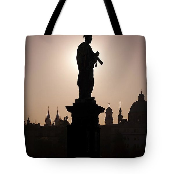Saint Tote Bag by Michal Boubin