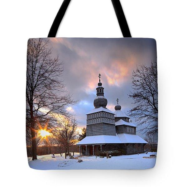 Saint Nicholas Chapel Tote Bag