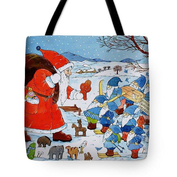 Saint Nicholas Tote Bag by Christian Kaempf
