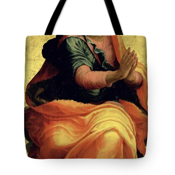 Saint Paul The Apostle Tote Bag by Marco Pino