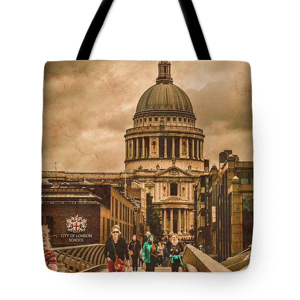 London, England - Saint Paul's In The City Tote Bag