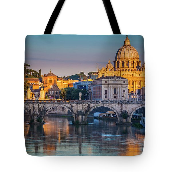 Saint Peters Basilica Tote Bag