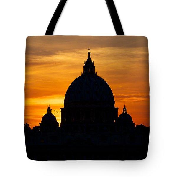 Saint Peters Sunset Tote Bag