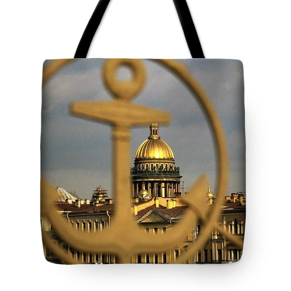 Saint Petersburg Tote Bag