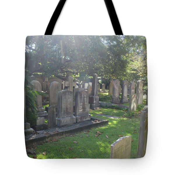 Saint Phillips Cemetery 4 Tote Bag by Gordon Mooneyhan