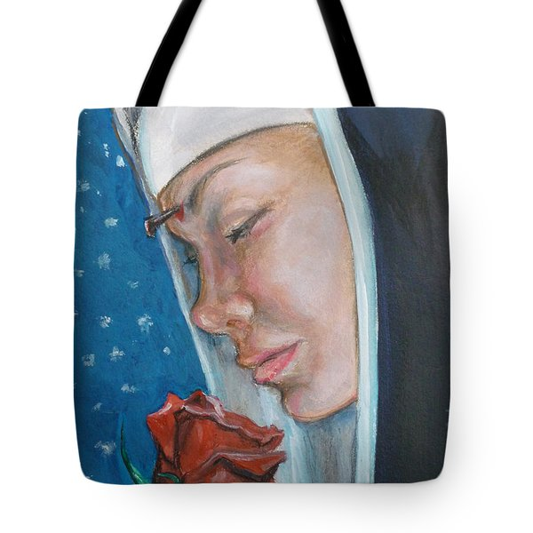 Saint Rita Of Cascia Tote Bag