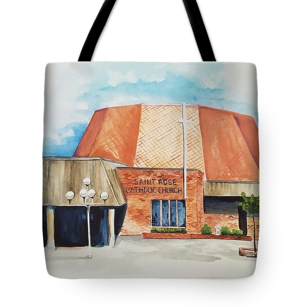 Saint Rose Tote Bag