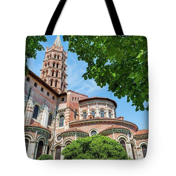 Saint Sernin Basilica Tote Bag
