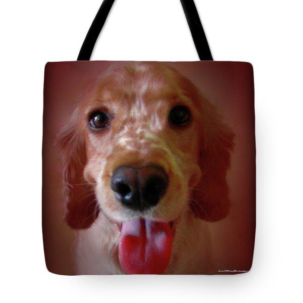Saint Shaggy Portrait 15 Tote Bag