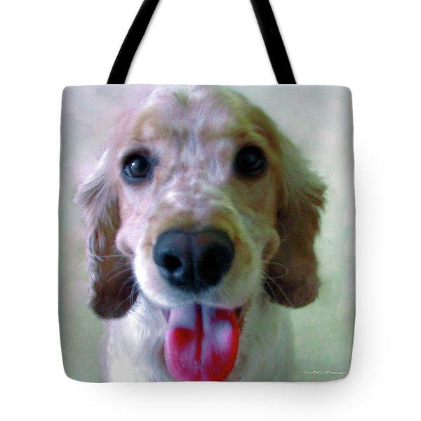 Saint Shaggy Portrait 3 Tote Bag