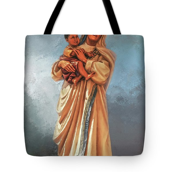 Tote Bag featuring the photograph Saint Teresa Of Calcutta by Donna Kennedy