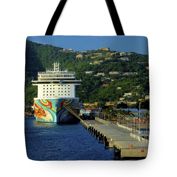 Saint Thomas Getaway Tote Bag