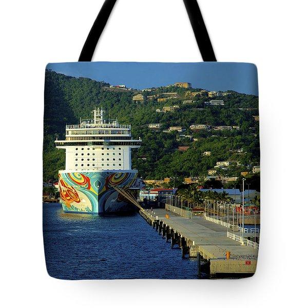 Saint Thomas Getaway Tote Bag