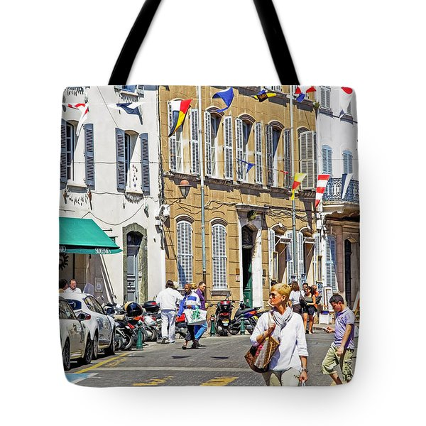 Saint Tropez Moment Tote Bag by Keith Armstrong