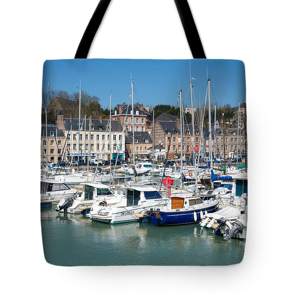 Saint Valery En Caux Tote Bag