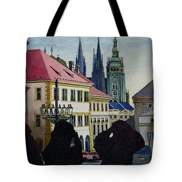 Saint Vitus Cathedral Tote Bag