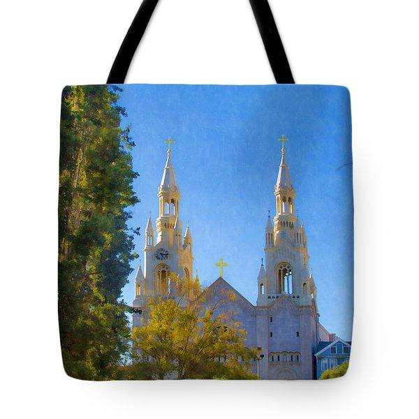 Saints Peter And Paul Church Tote Bag