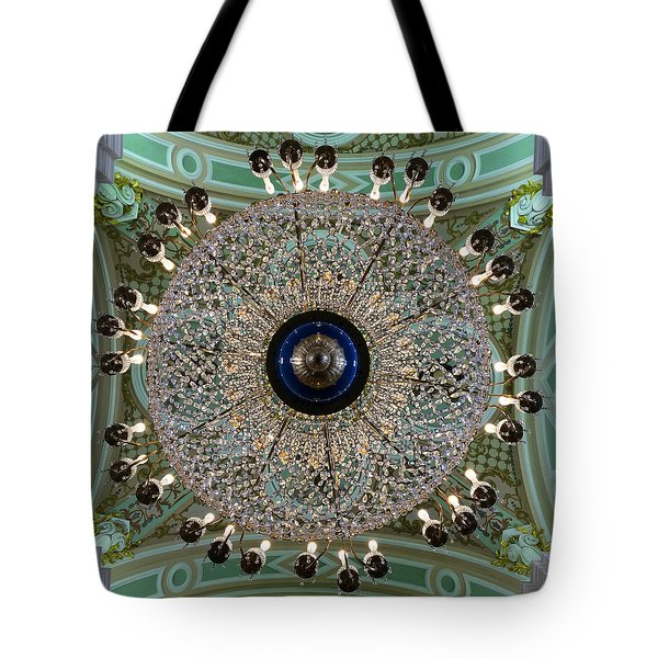 Saints Peter And Paul Fortress Tote Bag