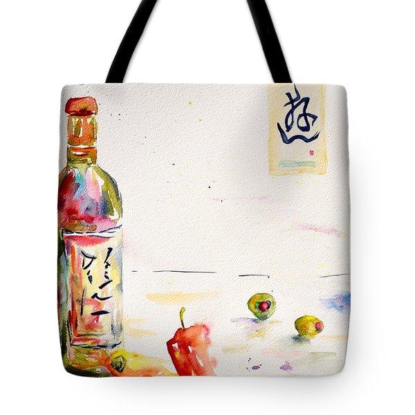 Sake Tote Bag