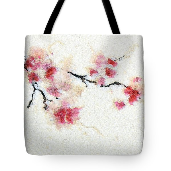 Sakura Branch Tote Bag