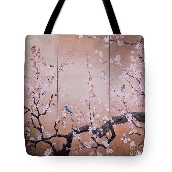 Sakura - Cherry Trees In Bloom Tote Bag