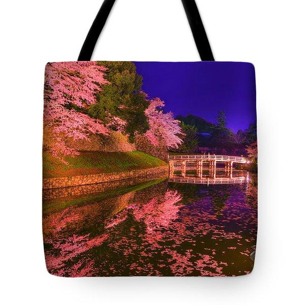 Sakura Dance Tote Bag