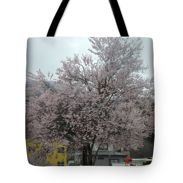 Sakura, Japan's Ephemeral Also Beautiful Flowers Tote Bag