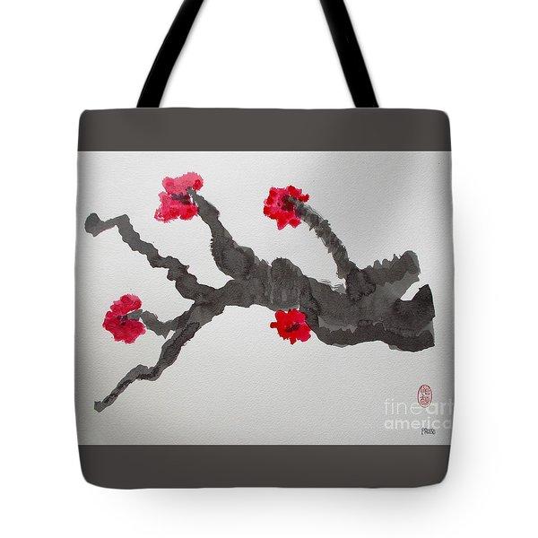 Sakura No Jikan II Tote Bag by Roberto Prusso
