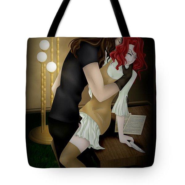 Salaciousness Tote Bag by Sandra Hoefer