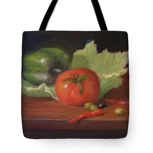 Salad By Alan Zawacki Tote Bag