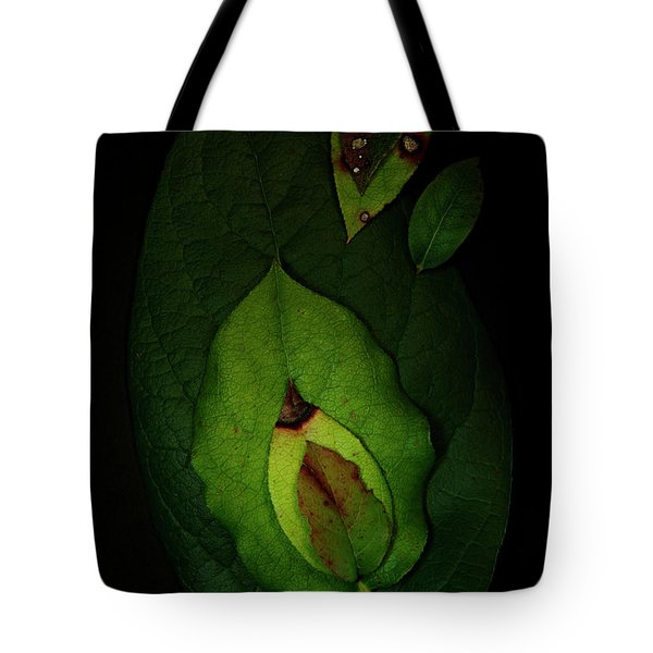 Salal Leaves Tote Bag