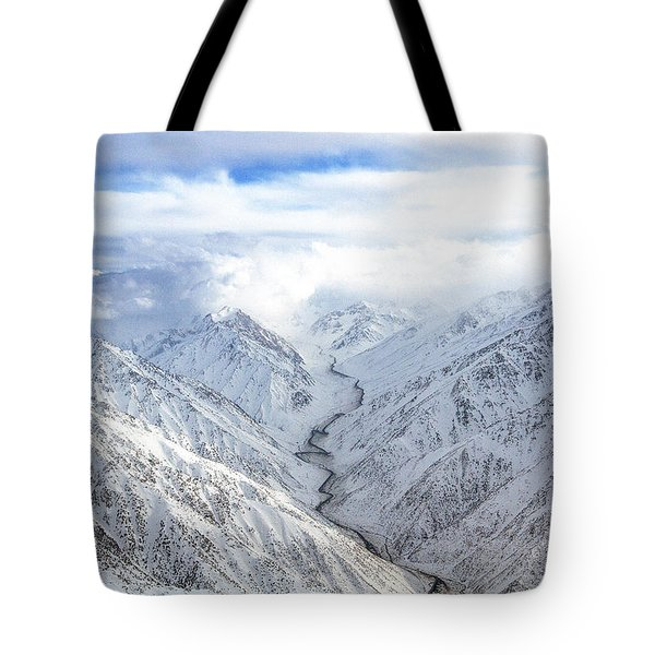 Salang Pass Tote Bag