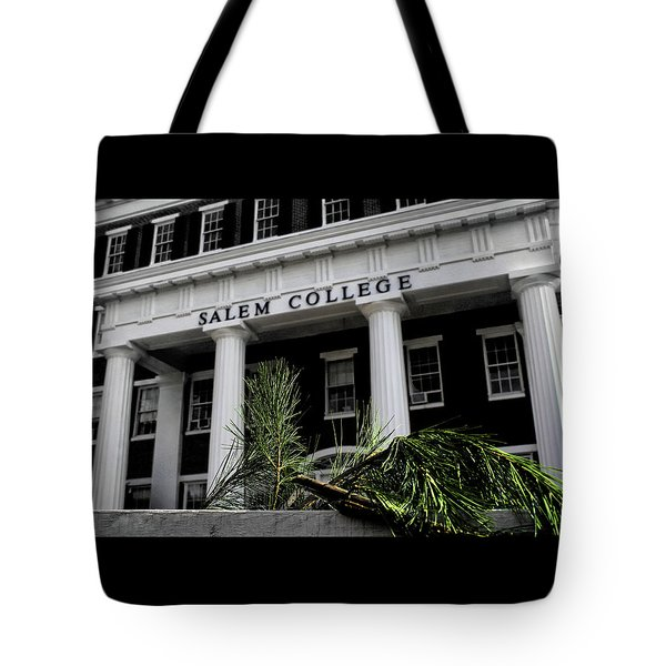 Tote Bag featuring the photograph Salem College by Jessica Brawley