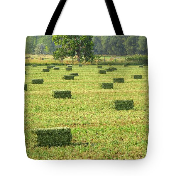 Salem Hay Field Tote Bag