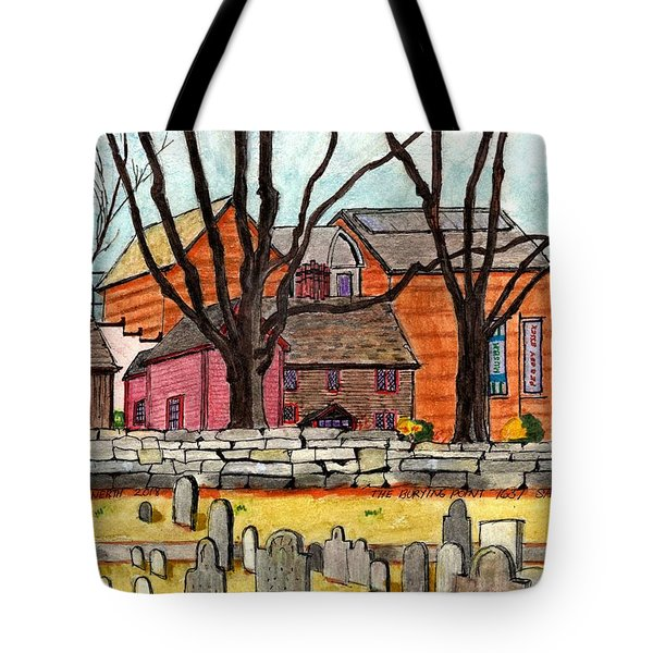 Salem The Buring Point Tote Bag