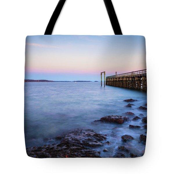 Salem Willows Sunset Tote Bag