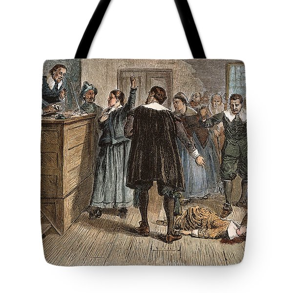 Salem Witch Trials, 1692 Tote Bag by Granger