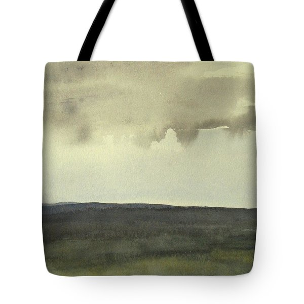 Salen Cloudy Weather. Up Tp 60 X 60 Cm Tote Bag