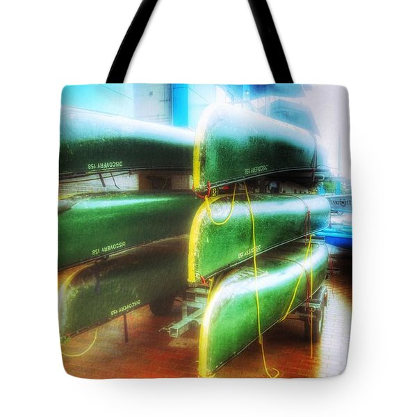 Tote Bag featuring the photograph Salford Quays Boats by Isabella F Abbie Shores FRSA