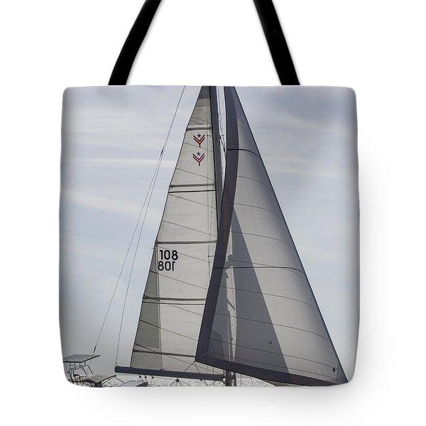Saling Yacht Valkyrie Charleston Sc Tote Bag