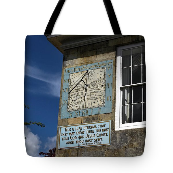 Salisbury Sundial Tote Bag