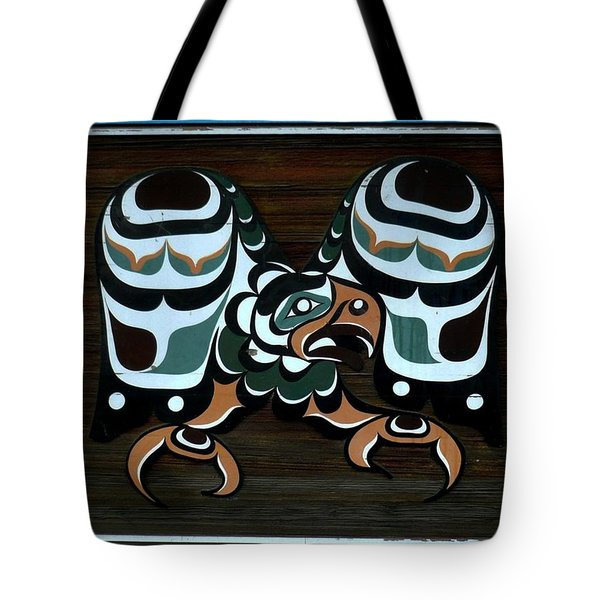 Tote Bag featuring the photograph Salish Painting by 'REA' Gallery