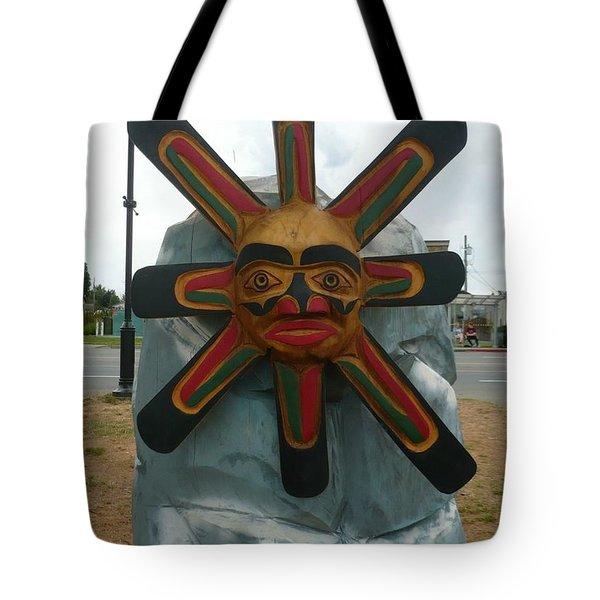 Salish Sun Tote Bag