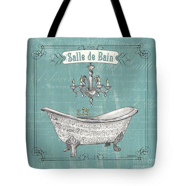 Salle De Bain Tote Bag