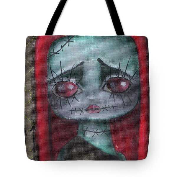 Sally Girl Tote Bag by Abril Andrade Griffith