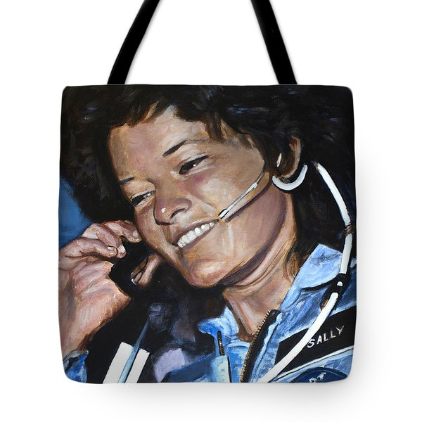 Sally Ride Tote Bag