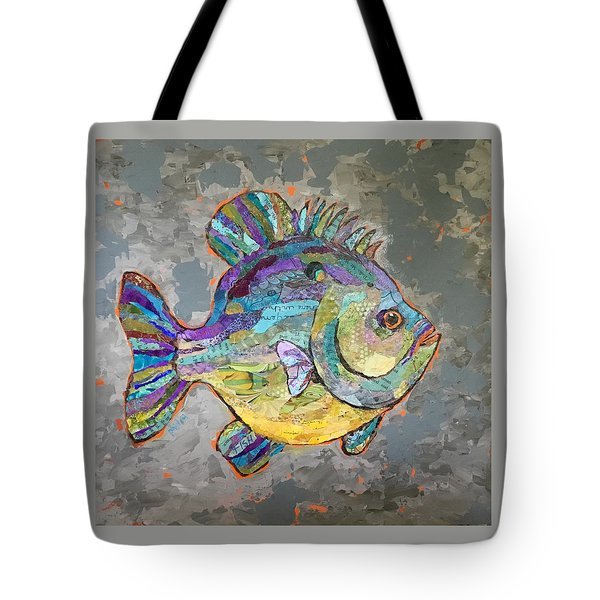 Sally Sunfish Tote Bag