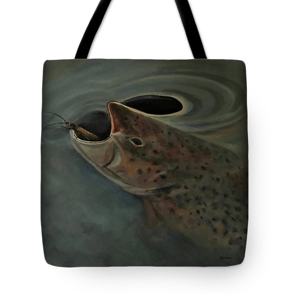 Salmon Flies Are Back Tote Bag