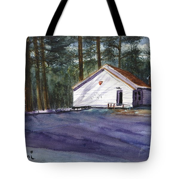 Salmon River Grange Tote Bag