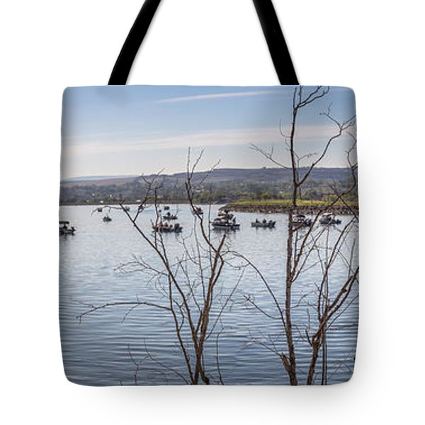 Salmon Run  Tote Bag